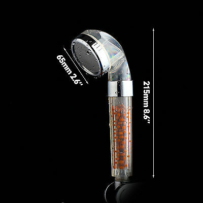 Anion Spa Water Saving Shower Head Purifier Water Filters Cleaner Shower head