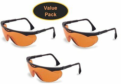 Uvex Skyper 3 x Blue Light Blocking Computer Glasses SCT-Orange Lens S1933X NEW