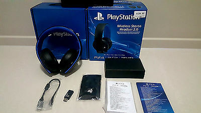 Official Sony PlayStation PS4  Wireless Stereo Headset 2.0