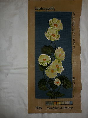 Tapestry Canvas Completed Unframed Baxtergrafik Mountain Buttercup