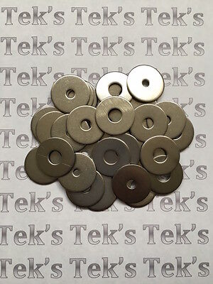 M4,5,6,8mm A2 Stainless Steel Penny/Repair Washers To Fit Metric Bolts & Screws
