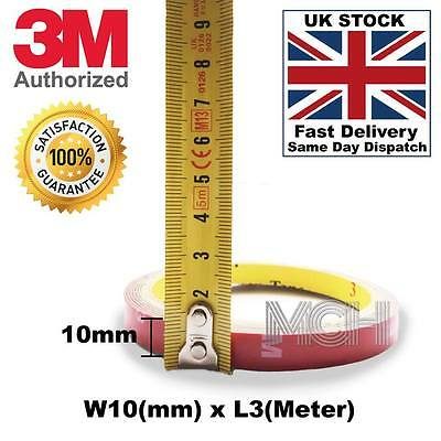 3M tape 10mmx3m for all Cars Double Sided Adhesive Tape,extra sticky,heavy duty