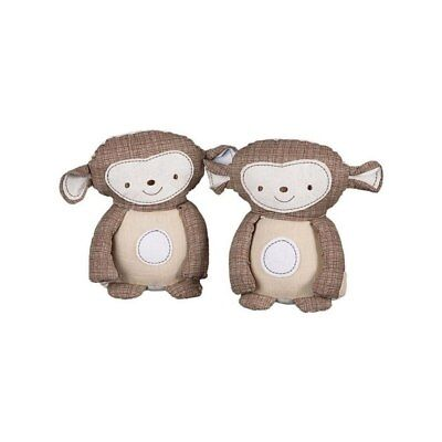 NEW The Living Textiles - Bookends  Monkey pair from Baby Barn Discounts