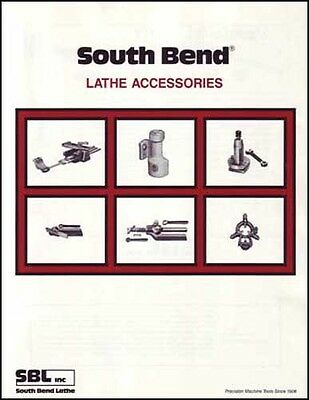 South Bend Lathe Accessories Catalog Manual