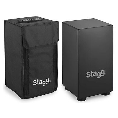 Stagg CAJ-40S Small Sized Wooden Cajon with Gig Bag