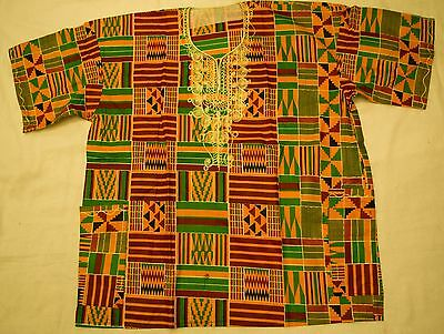 Handmade Traditional Africa Dashiki Shirt Ltd Edition One Off Roots & Culture 04