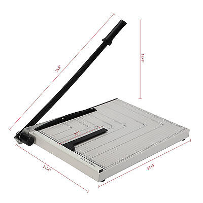"A3 to B7 Paper Cutter 18""x15"" Blade Metal Base Trimmer Scrap Booking Commercial"