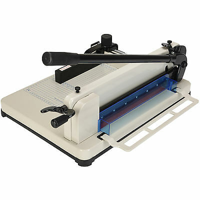 """400 sheets Heavy Duty 12"""" Guillotine Paper Cutter Trimmer Metal Base Commercial"""