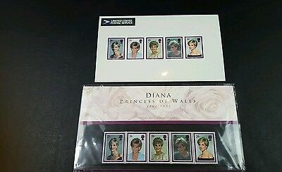 Royal Mail Mint and USPS Collectors Stamps Diana Princess of Wales, 1961 - 1997