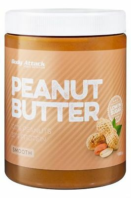 Body Attack Peanut Butter Smooth  1000g