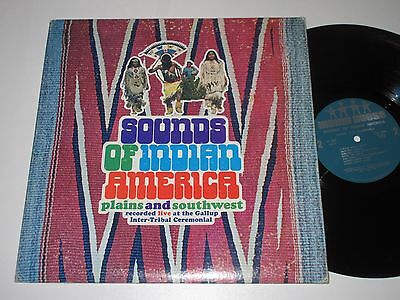 Lp/indian House/sounds Of Indian America/plains Ans Southwest/ih 9501 Foc