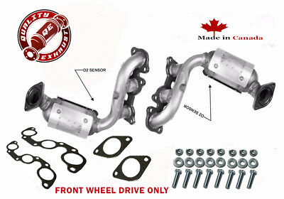 MANIFOLD CATALYTIC CONVERTER 2004-2006 TOYOTA SIENNA 3.3L FWD Bank 1 and 2
