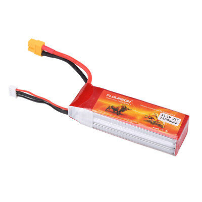 2S 7.4V 5000mAh 30C Lipo Battery Pack XT60 Plug for RC Helicopter RC Car Truck