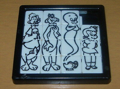 Baby Huey  Slide Puzzle  Roalex  1960's  Casper  Little Audrey  Harvey Cartoons