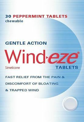 Wind-eze chewable tablets 125mg 30 pack