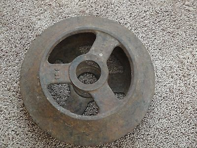 Vintage Farm Equipment Steel Wheel Man Cave Decor  Roller Dirt Packer