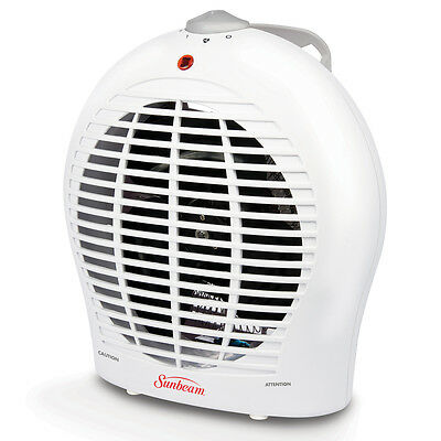 Sunbeam Classic White Fan Heater - SFH1000-CN
