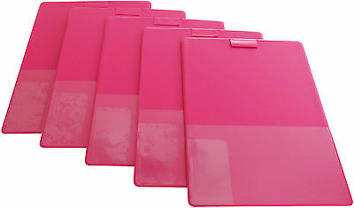 Home Party Plan Consultant Lapboards - 5 Hot Pink/Magenta Lap Boards