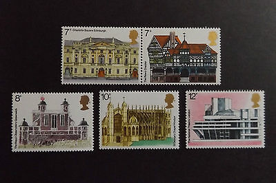 GB MNH STAMP SET 1975 European Architectural Heritage Year SG 975-979 10% OFF 5+