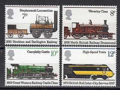 GB MNH STAMP SET 1975 Railways SG 984-987 10% OFF FOR ANY 5+