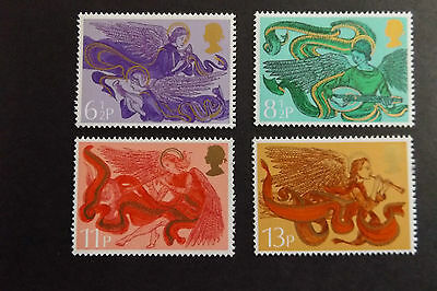 GB MNH STAMP SET 1975 Christmas Angels SG 993-996 10% OFF FOR ANY 5+