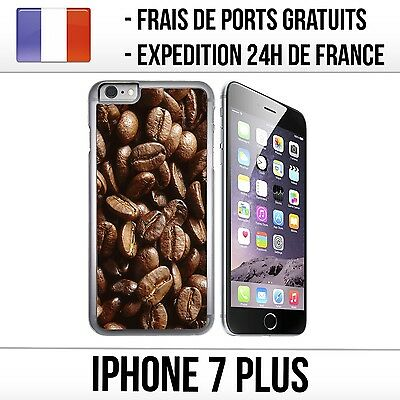 Coque iPhone 7 Plus - Grains de Café