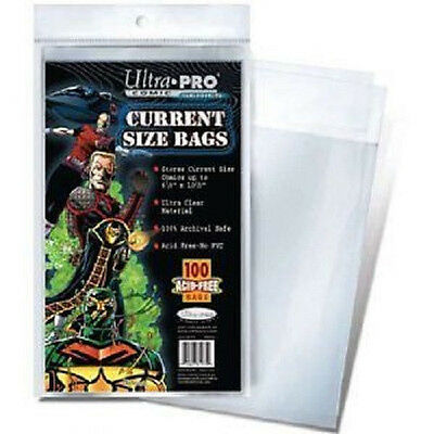 200 Ultra Pro Current  Storage Bags And Boards  Brand New Factory Sealed