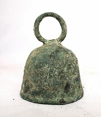 1700's  Antique Islamic Donkey Brass Bells,  Animals Farm Tools