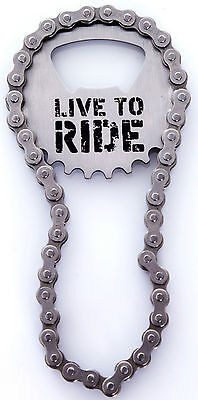 Bike Chain Bottle Opener Brand New Novelty Gift Cycling Present Kitchen Drink