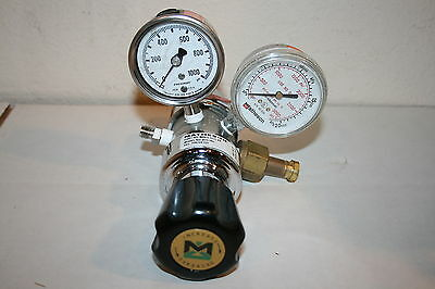 Matheson MREG-5137-XX 81H-580 Dual-Stage Gas Pressure Regulator Valve- 3000 PSI