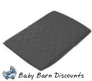 NEW Goldbug - Quilted Porta Cot Fitted Sheet- -Charcoal from Baby Barn Discounts