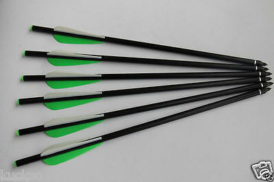 "12X Hunting Arrow 20"" Crossbow Bolts Same With Daryl Dixon'S Bolt Walking Dead"