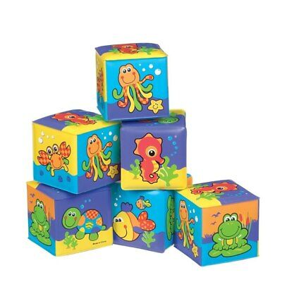 Playgro - Soft Cubes - Under the sea
