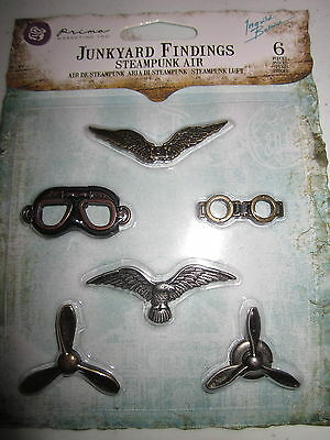 Prima - JUNKYARD FINDINGS - SteamPunk Air - 1 only -NRS - no.8