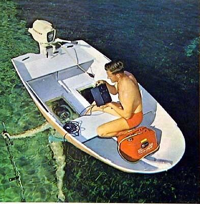 """9' 6"""" Dinghy with Glass Bottom Boat How-To build PLANS"""
