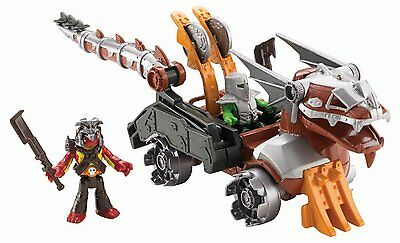 Fisher-Price Toy Imaginext Serpent Battle Wagon Vehicle: With 2 Figures