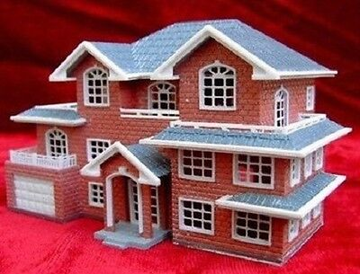 New Without Packaging 1 x N Gauge Delux Villa House Building Structure Kit