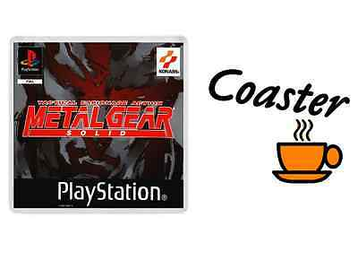 METAL GEAR SOLID COASTER playstation one retro style free post ps1 psx