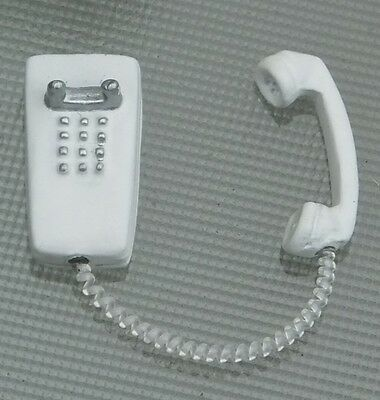 1/18 Scale Wall / Shop Phone Diecast Miniature Diorama Accessory Item