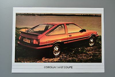 Sales Sheet Brochure: Toyota Corolla 1.6 GT Coupe
