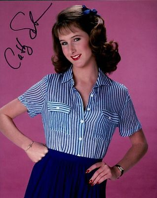 Cathy Silvers In Person Signed Photo - A1188 - Jenny Piccolo - Happy Days