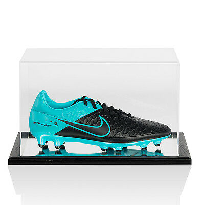 John Terry Signed Nike Football Boot - In Acrylic Display Case Autograph