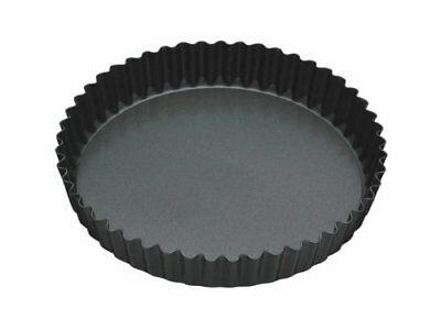 Master Class Non-Stick Fluted Flan Tin / Quiche Pan with Loose Base, 23 cm 9""