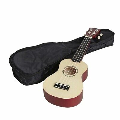 Groov-e Traditional Kids Soprano Ukulele Children Beginners + Case/Bag GVMI10