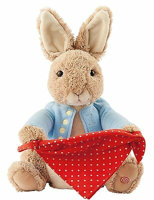 Gund Beatrix Potter Peter Rabbit Peek A Boo Plush  Age 3+ 36cm A26435 New