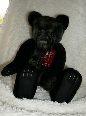 Charlie Bears Lockie Collectable 2016 Jointed Teddy Bear - Brand New