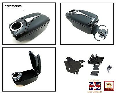Black Arm Rest Armrest Centre Console For Dacia Logan Sandero Duster Lodgy Doker