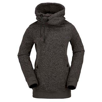 Volcom Tower Pullover Women's Fleece - Heather Grey