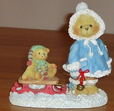 "Cherished Teddies MARY ""A Special Friend Warms The Season"" Christmas Figurine"