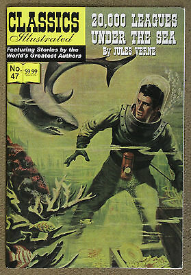 Classics Illustrated (2007) #47 20,000 Leagues Under The Sea Jules Verne